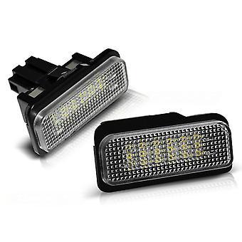 Rekisterikilven valaistus LED MERCEDES W211 W219 R171 W203 KOMBI