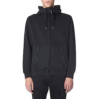 C.p. Company 07cmss251a005594o999 Männer's Schwarze Baumwolle Sweatshirt