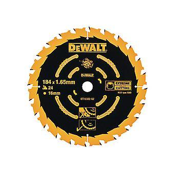 DEWALT Kreissäge Blatt 184 x 16mm x 24T Corded Extreme Framing DEWDT10302QZ