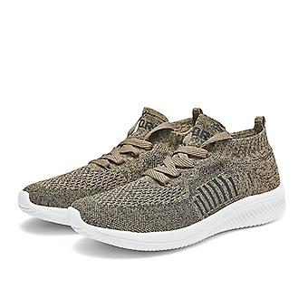 Uomini Sneakers Slip-On Volare Tessitura Net Cloth Running Scarpe