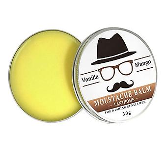 Vanilla And Mango Scented, Organic Moustache Wax-conditioner