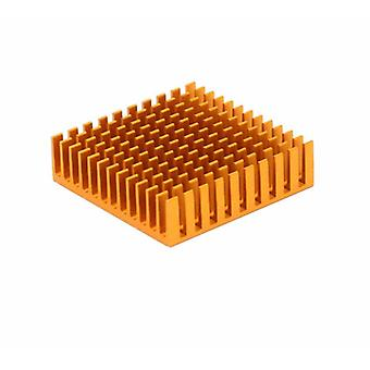 10 Pcs Heatsink Cooling Fin Aluminum Radiator Cooler Heat-sink For Ic Chip Led