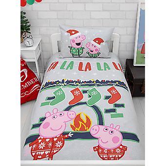 Peppa Pig Falala Junior Toddler Duvet Cover Set