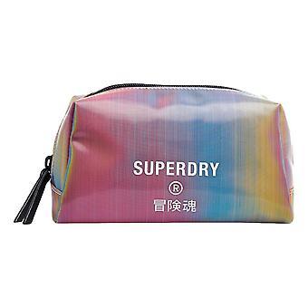 Sac de lavage à gelée Superdry - Arc-en-ciel Holographique