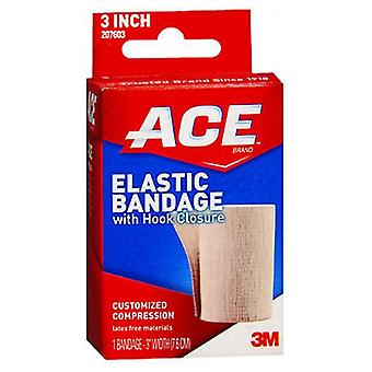 Ace Elastic Bandage With Hook Closure, 3 inches 1 each