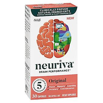 Schiff Neuriva Brain Performance Capsules Original, 30 Caps