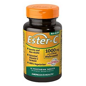 American Health Ester-c With Citrus Bioflavonoids, 1000 mg, 45 Vegitabs