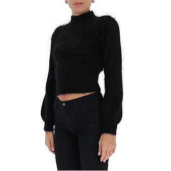 Amen Couture Acw20901009 Women's Black Wool Sweater