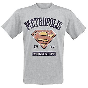 Supergirl Adults Unisex Adults Athletic Department T-Shirt
