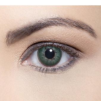 Solotica Soflex - Natural Coloured Contact Lenses - Esmeralda (0.00d) (1 Month)