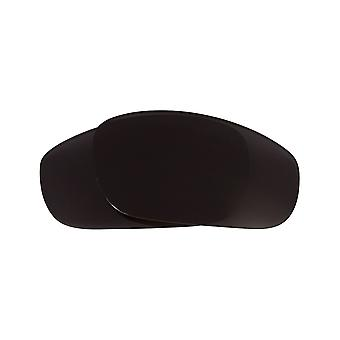 Polarized Replacement Lenses for Oakley Fives 2.0 Sunglasses Anti-Scratch Black