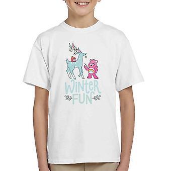 Care Bears Unlock The Magic Christmas Winter Fun Kid's T-Shirt