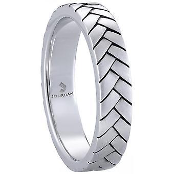 Jourdan VALOIS AIB016H ring-mäns Silver Ring