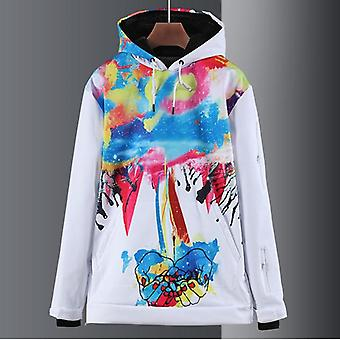 Men Women Outdoor Snow Coat Sports Wear Hoodie Waterproof Windproof Jacket