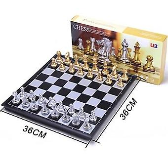 Big Size Medieval Chess Sets With Magnetic Board, Table Carrom Games Figure