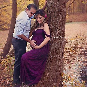 فساتين الأمومة التصوير للصور تبادل لاطلاق النار الحوامل اللباس