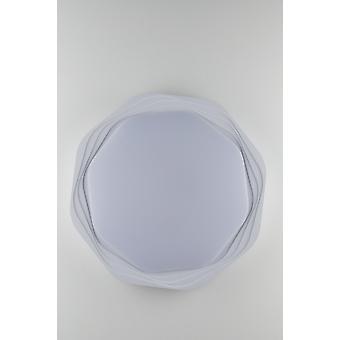 Fan Europe Daisy - Lampe de plafond à led dimmable intégrée Flush, plus rétro-éclairage,