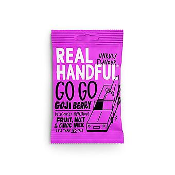 Real Handfull Gå Goji Trail Mix 12x35g