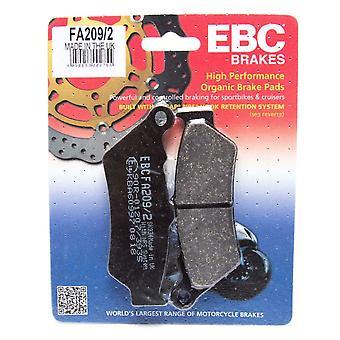 EBC Brakes FA209 2 Disc Brake Pad Set