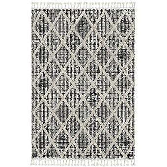 """WIL 1101 8'9""""X 13' / Charcoal rug"""