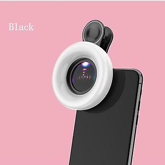 مصابيح LED ring Light، ماكرو فلاش للكاميرا الهاتف المحمول