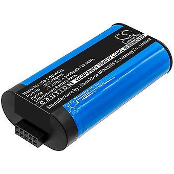 Speaker Battery for Logitech S-00147 UE MegaBoom 533-000116 533-000138 3400mAh