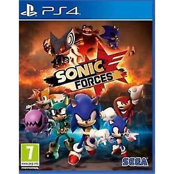 Juego de Sonic fuerzas PS4
