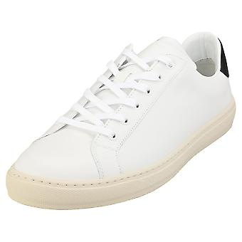 Paul Smith Hansen Sneakers Mens Casual Trainers in White Black