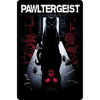 Greet Tin Card Pawltergeist Plaque