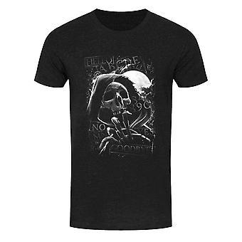 Grindstore Mens Skull Moon Ouija T-Shirt