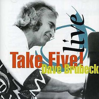 Brubeckdave - Live-Take Five! [CD] USA import
