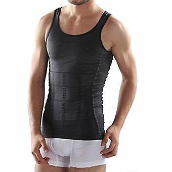 Miehet laihdutus vartalo shaper, vatsa shapewear, rasvanpoltto liivi mallinnus alusvaatteet
