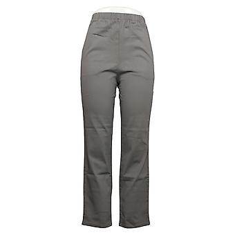 Denim & Co. Women's Pants Stretch Jeans With Pockets Gray A271388