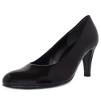 Gabor Lavender Court kenkä musta patentti