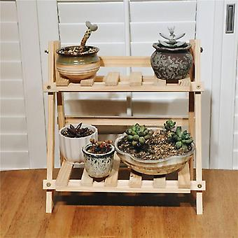 Bambusholz Pflanze Blume Boden Stand Regale/Rack, Pflanze Blume Display Stand,