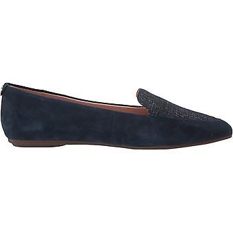 Taryn Rose Women's Faye Shimmer Metallic Loafer Flat