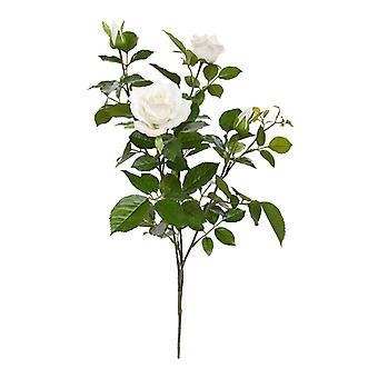 Rosa Artificial ramo deluxe 70 cm creme