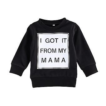 Pasgeboren Baby Sweatshirts
