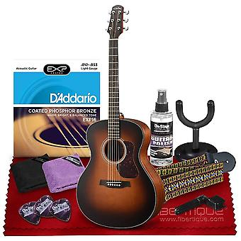 Walden g570etb natura grand auditorium acoustic-electric guitar with rosewood fingerboard and cedar top  bundle includes gig bag, acoustic ps41159