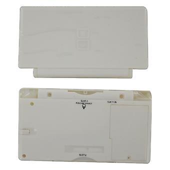 Täysi kotelo kuori nintendo ds lite -konsolin täydelliseen kotelon korjaussarjan vaihtoon - valkoinen | zedlabz-niminen