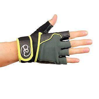 Fitness Mad Cross entrenamiento & Fitness guantes en negro - tamaño grande
