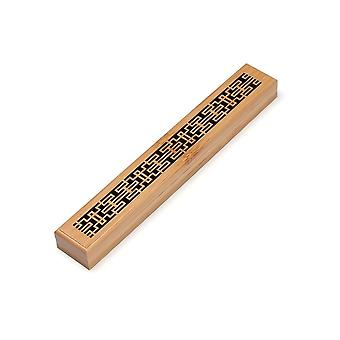 Retro eco friendly wood incense holders and burner