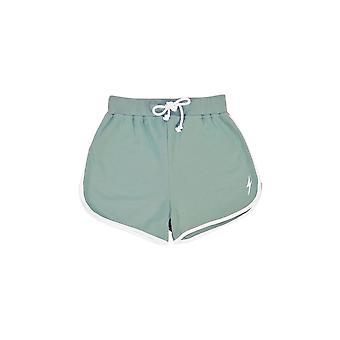 Lightning bolt plain sweat shorts