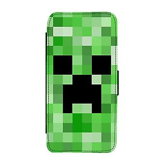 Minecraft Creeper Samsung Galaxy S20 FE Wallet Case