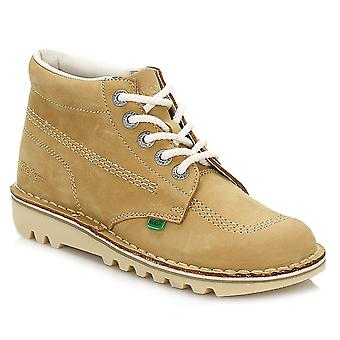 Kickers Kick Hi Womens Boots Nubuck beige / naturel