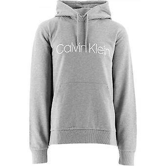 Calvin Klein harmaa puuvilla Logo huppari