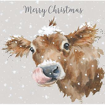 Wrendale الذوق الأول من بطاقات عيد الميلاد الثلج