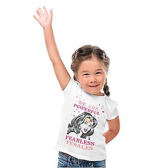 Wonder Woman Girls Fearless T-Shirt