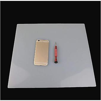 Wokex Silikonplatten 3mm 2PCS Hitzebeständige Lötmatte Hitzebeständige Silikonmatte 100% Rutschfeste