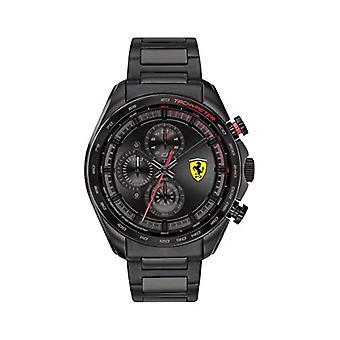 Scuderia Ferrari Analog Watch Quartz Man with Stainless Steel Strap 0830654